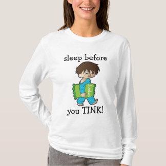 睡眠前にTINK! Tシャツ