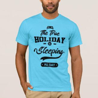 睡眠日のTシャツ Tシャツ