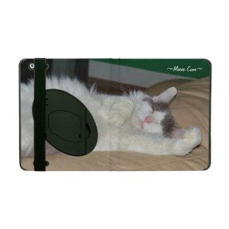 睡眠柔らかい猫のiPad 2/3/4の場合 iPad ケース