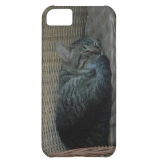 睡眠猫のiPhone 5の場合 iPhone5Cケース