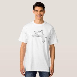 睡眠猫 Tシャツ