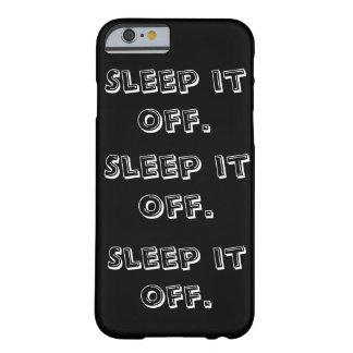 睡眠電話箱を離れてそれ BARELY THERE iPhone 6 ケース