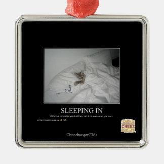 睡眠 メタルオーナメント