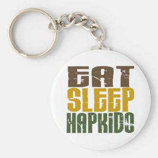 睡眠Hapkido 1を食べて下さい キーホルダー