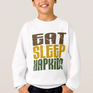 睡眠Hapkido 1を食べて下さい スウェットシャツ