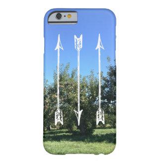 矢およびりんごの木のiPhone 6/6sの場合 Barely There iPhone 6 ケース
