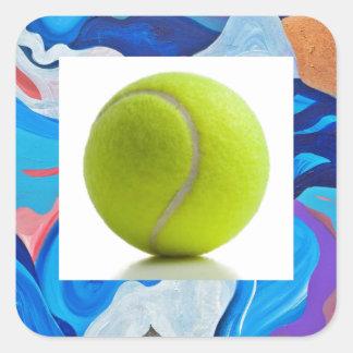 矢のテニス・ボール スクエアシール