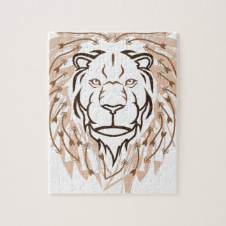 矢のライオン ジグソーパズル