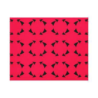 矢の円 キャンバスプリント
