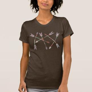 矢の積み重ね Tシャツ