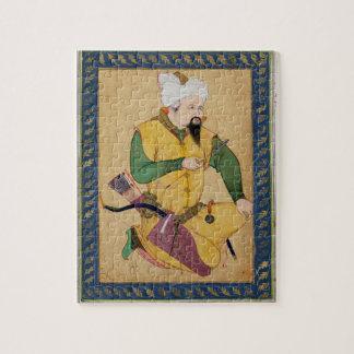 矢を、から握っているトルコマン人またはモンゴル人の責任者 ジグソーパズル