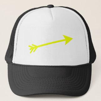 矢黄色い15deg博物館のZazzleのギフト キャップ