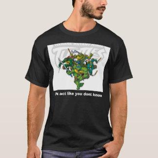 知らないように機能しないで下さい Tシャツ