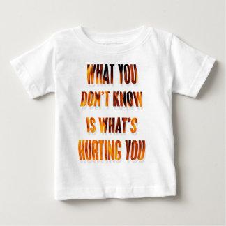 知らない何を ベビーTシャツ