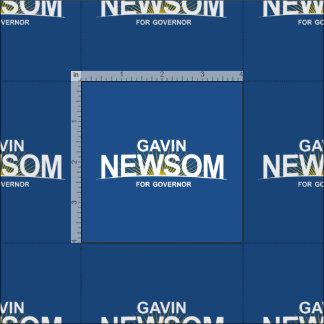 知事のためのギャビンNewsom ファブリック