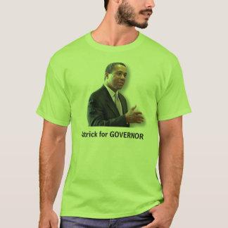 知事のためのパトリック Tシャツ