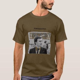 知事のためのブラウン Tシャツ