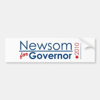 知事のためのNewsom バンパーステッカー