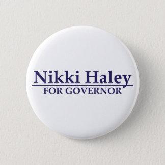 知事のためのNikki Haley 5.7cm 丸型バッジ