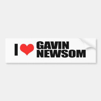 知事1のためのギャビンNewsom バンパーステッカー