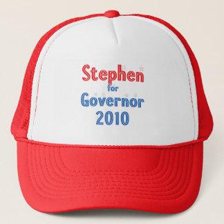 知事2010の星のデザインのためのジョンスティーブン キャップ