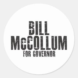 知事2010年のためのビルMcCollum ラウンドシール