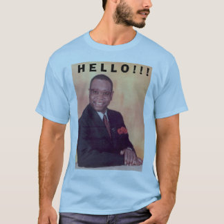 知事、H E L L O! ! ! Tシャツ
