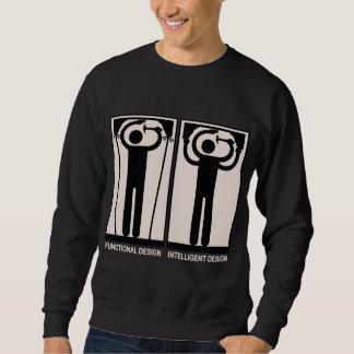 知性があるなデザイン スウェットシャツ