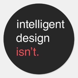 知性があるなデザイン ラウンドシール