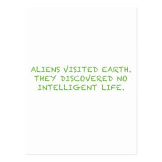 知性があるなLIFE_Green無し ポストカード