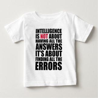 知性 ベビーTシャツ