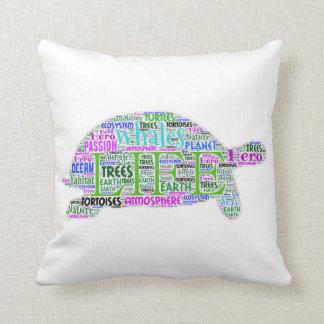 知恵のカメの枕 クッション