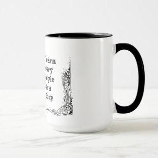知恵の哲学のタオクールですばらしくシンプルな文t マグカップ