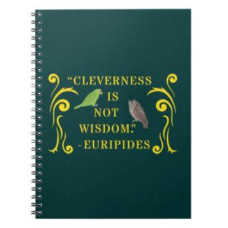 知恵の引用文のノート ノートブック
