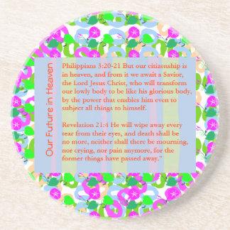 知恵の引用文の聖書のクリスマス、キリスト、休日、フェスティバル、 コースター