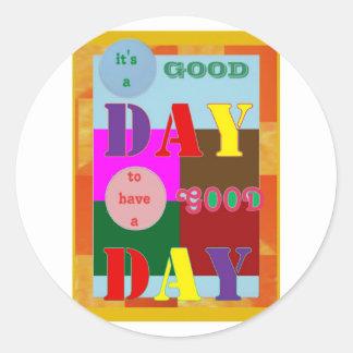 知恵の引用文はよい日を過します。Navin Joshi ラウンドシール