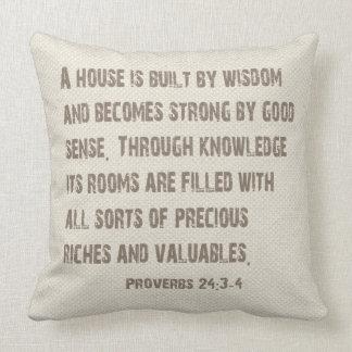 知恵の枕の単語 クッション