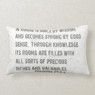 知恵の枕の単語 ランバークッション