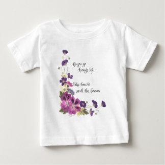 知恵の生命…単語によって行くように ベビーTシャツ