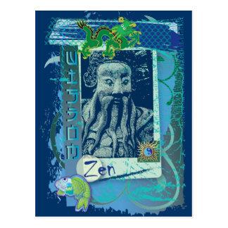 知恵の青 ポストカード