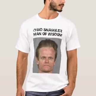 知恵のTシャツのチャドSNAGGLERの人 Tシャツ