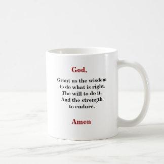 知恵は、及び強さ コーヒーマグカップ
