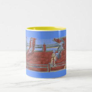知恵 ツートーンマグカップ