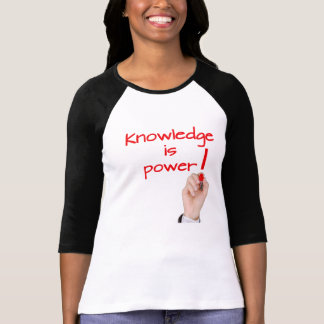 知識のイメージ Tシャツ