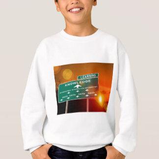 知識のハイウェーの印 スウェットシャツ
