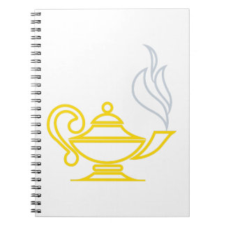 知識のランプ ノートブック