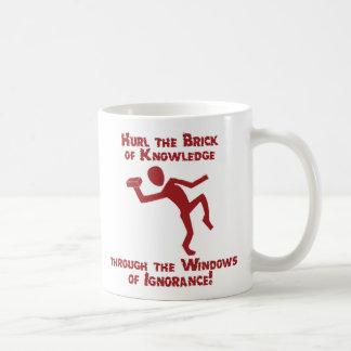 知識の煉瓦 コーヒーマグカップ