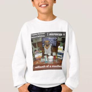 知識の犬によって忘れられる転換の顕微鏡 スウェットシャツ