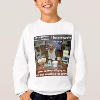 知識の犬によって忘れられる転換Bananosecond スウェットシャツ