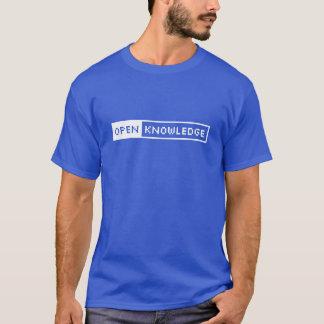 知識のTシャツを開けて下さい Tシャツ